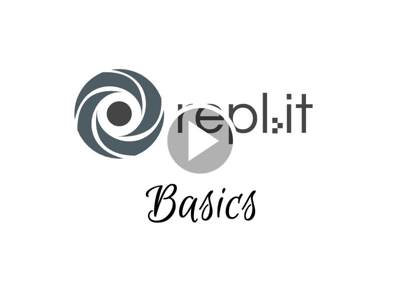 Repl.it basics